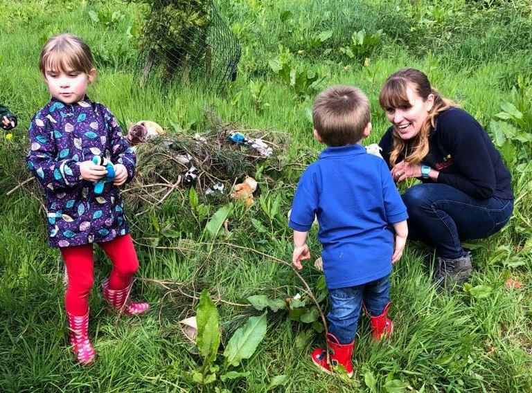 family forest school